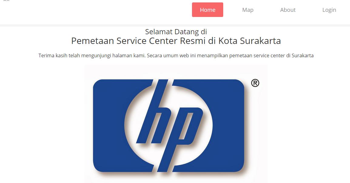 GIS Pemetaan Service Center Resmi di Kota Surakarta